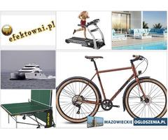 Profesjonalne rowery, Fitness, Meble ogrodowe