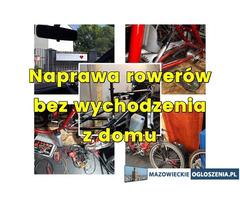 Mobilny serwis rowerowy, Pogotowie rowerowe Warszawa Konstancin Józefosław Grójec