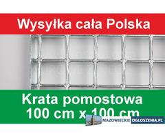 KRATA POMOSTOWA ZGRZEWANA 1000x1000 mm